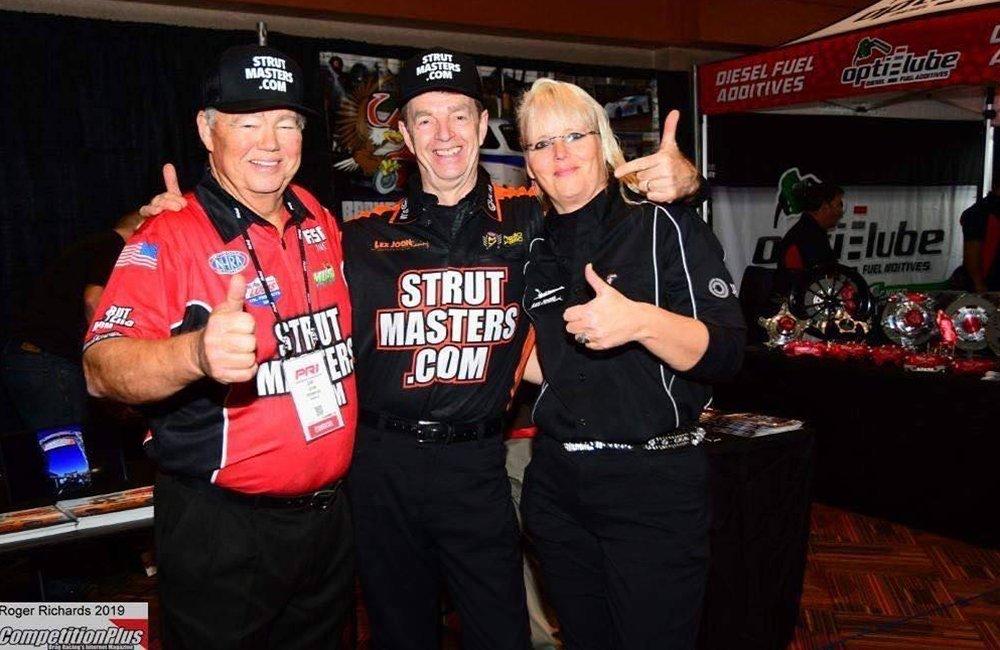 Strutmasters.com Extends Sponsorship with LJR