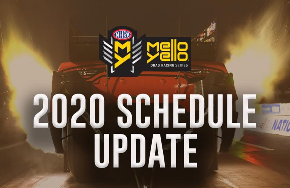 NHRA announces revised plan to restart 2020 Mello Yello Drag Racing Series