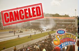NHRA Southern Nationals canceled due to COVID-19 concerns