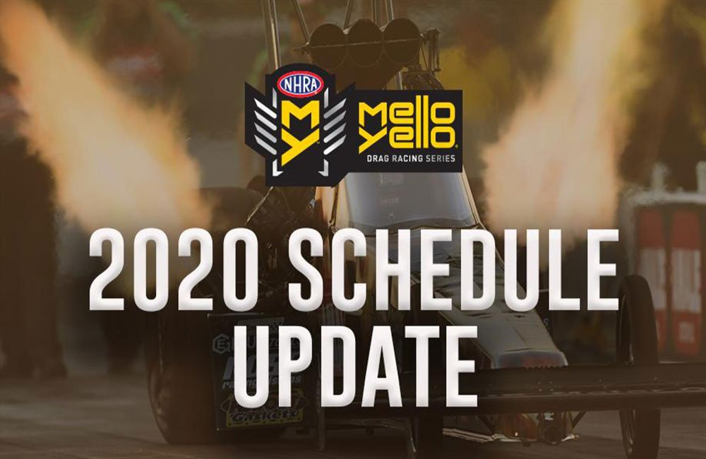 NHRA announces balance of 2020 Mello Yello season; six more races scheduled