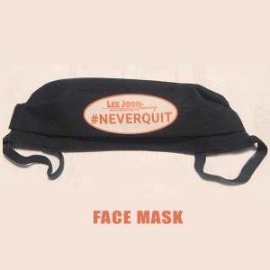 LJR #NEVERQUIT Face Mask