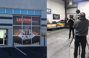 John Kernan, NHRA, visits the LJR shop and provides an update