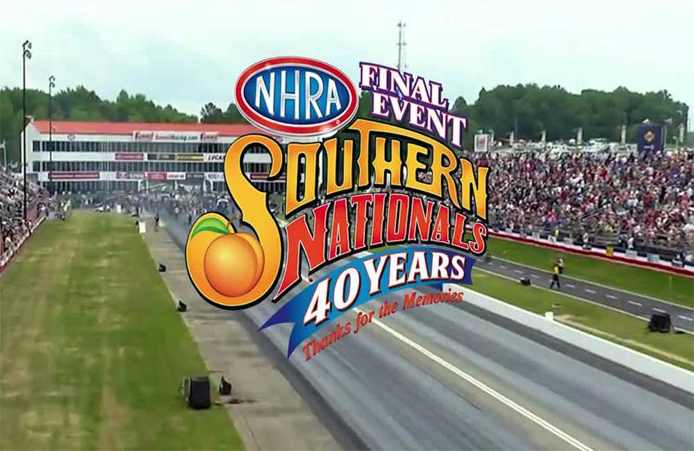 NHRA and Atlanta Dragway have announced that the 2021 NHRA Southern Nationals, April 30-May 2, will be the final NHRA national event at the historic track.
