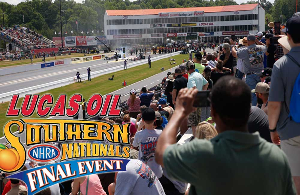 Lucas Oil to sponsor NHRA Southern Nationals finale at Atlanta Dragway